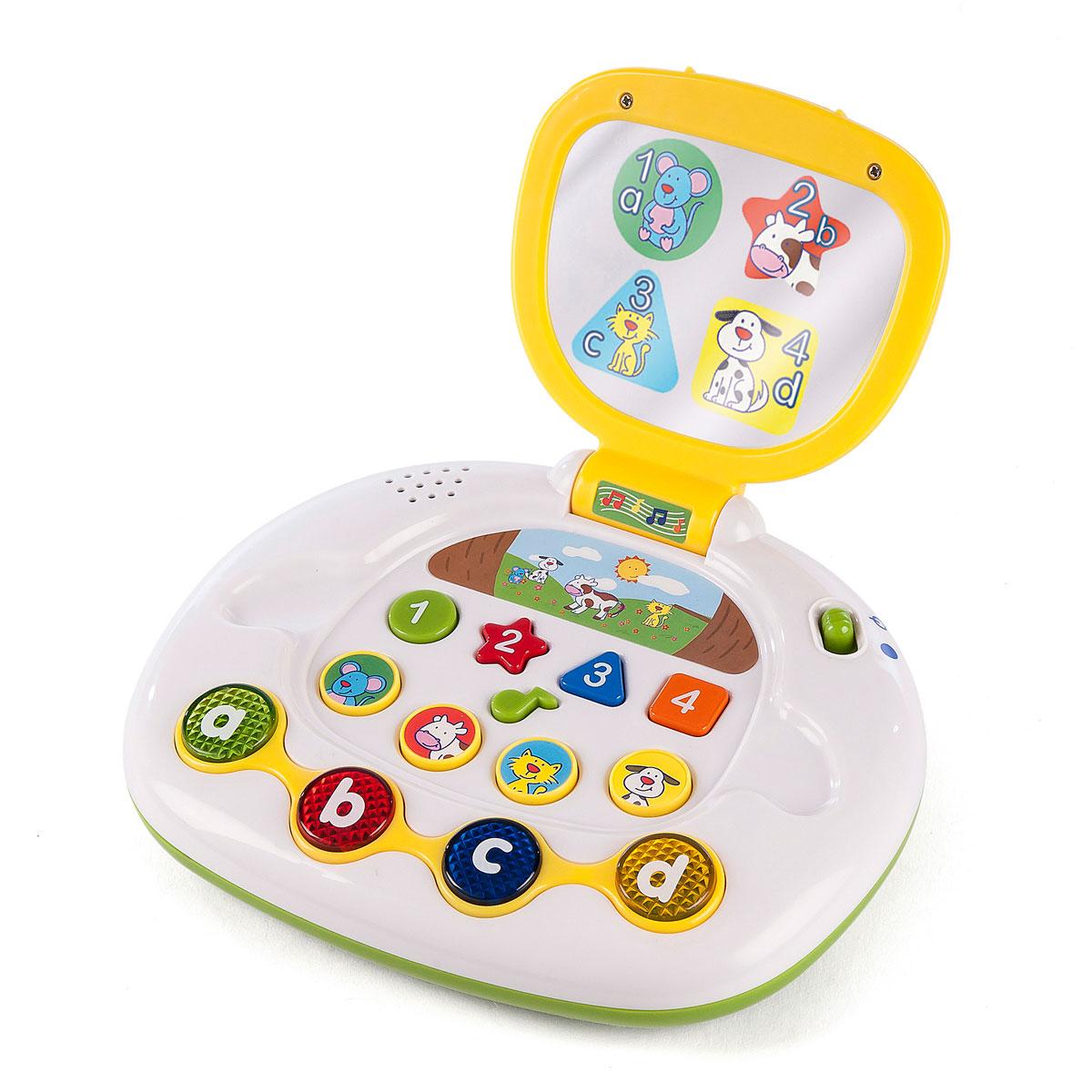 Image of   Baby Buddy bærbar computer - Leg og lær
