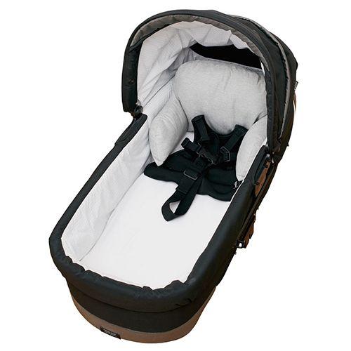 Populære Baby Dan barnevognspude - Grå Oeko-Tex certificeret og støttende WA-37