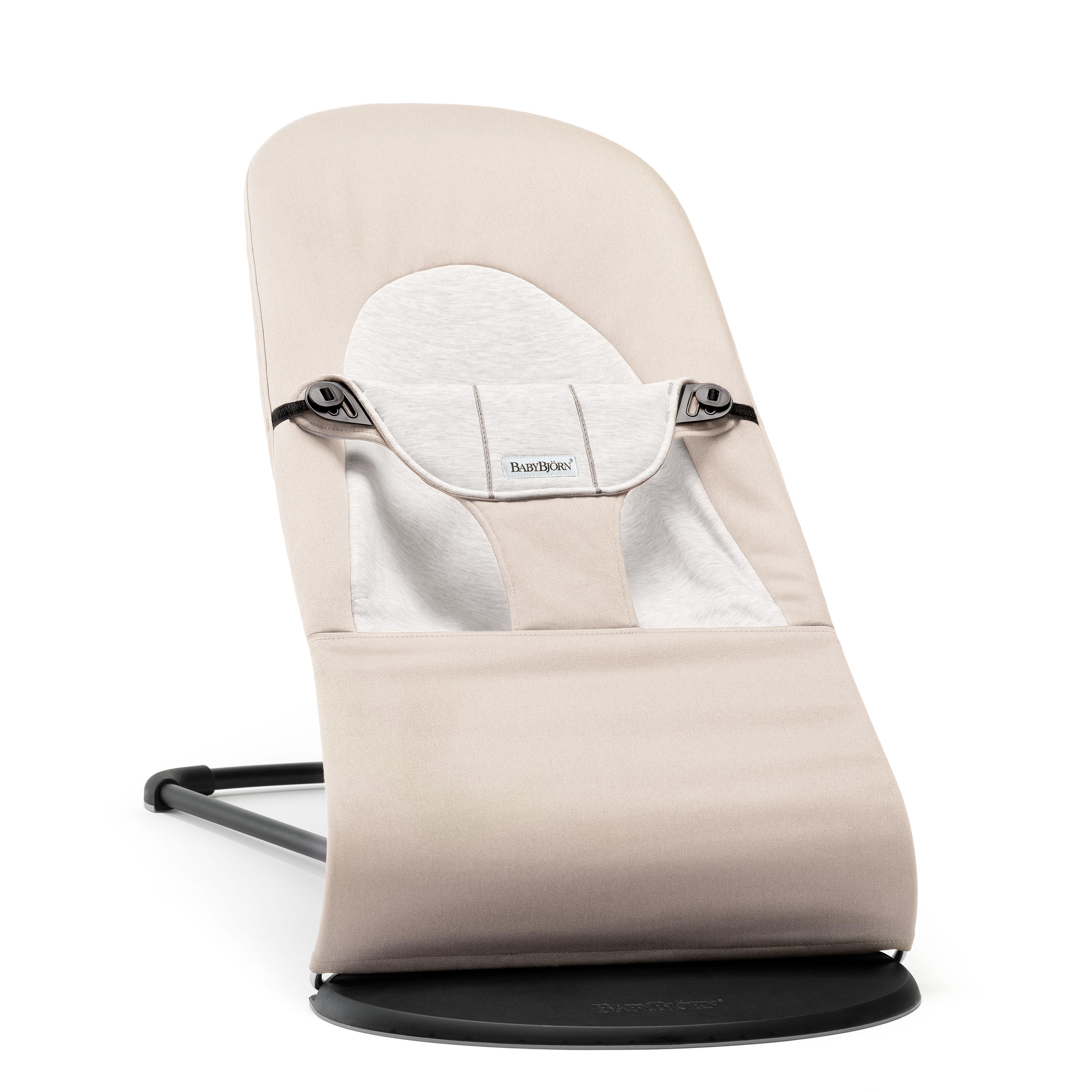 Image of   Babybjörn skråstol - Balance Soft - Beige/lys grå