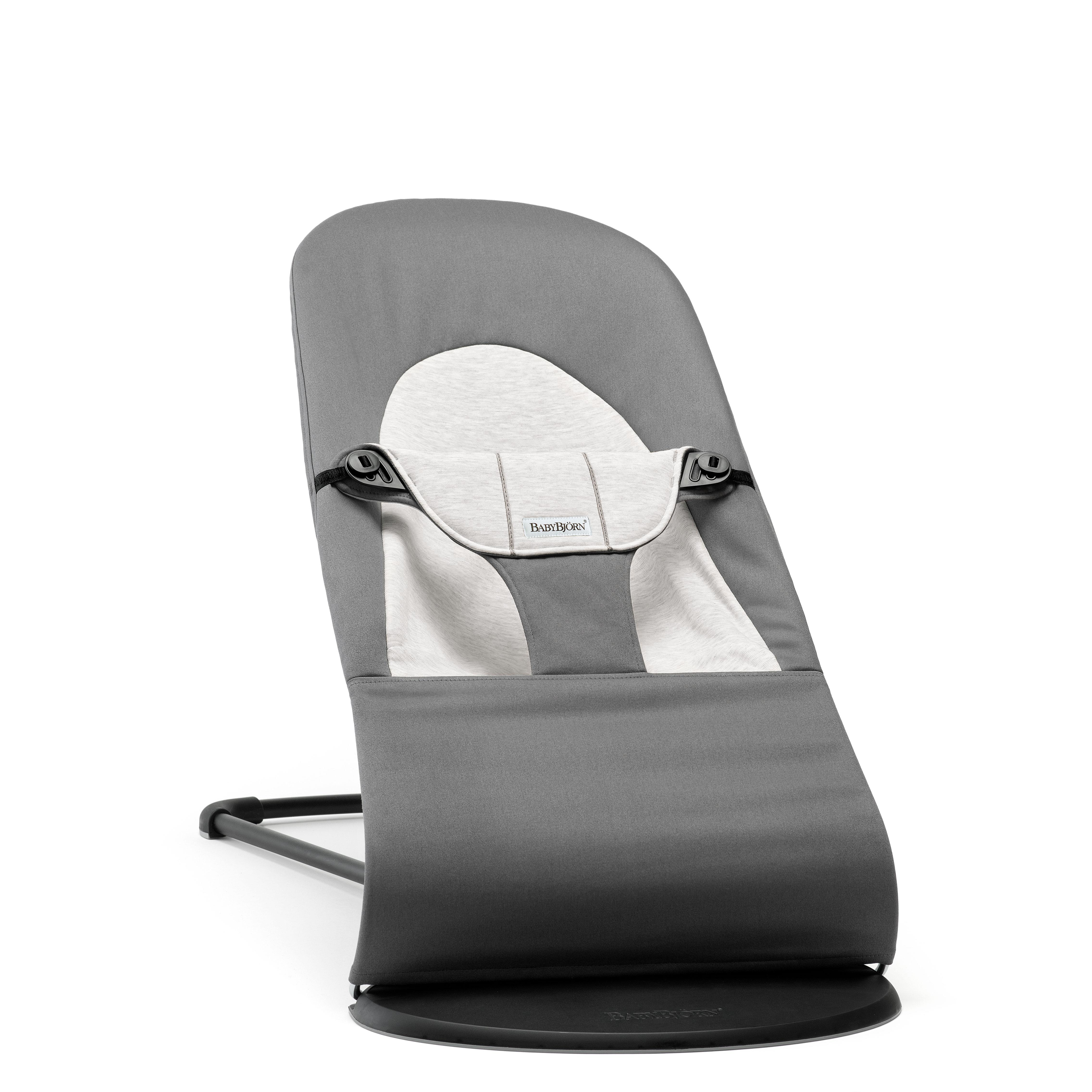 Image of   Babybjörn skråstol - Balance Soft - Grå