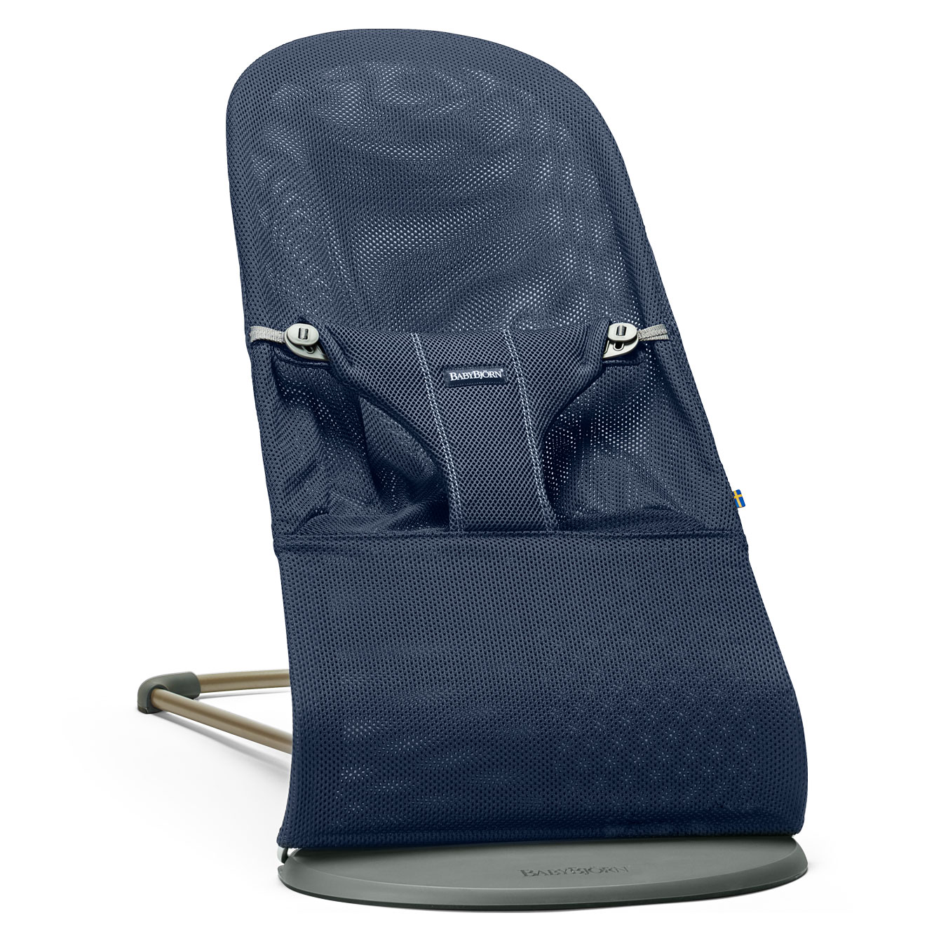 Image of   Babybjörn skråstol - Bliss - Navy Blue - Mesh
