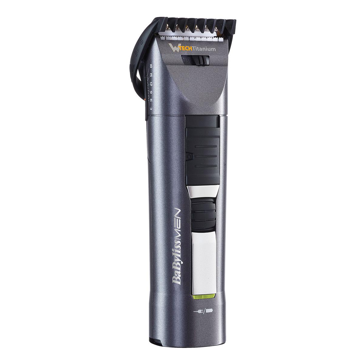 Image of   Babyliss hår- og skægtrimmer - W-tech - E791E