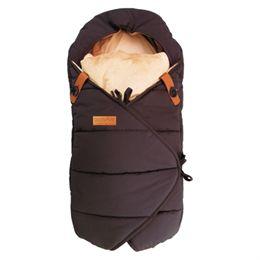 Image of   Babynor by Sleepbag kørepose - Frida - Mini - Sort/brun