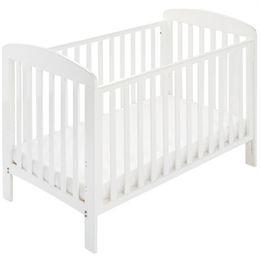 Babynor tremmeseng - Asfrid - Hvid