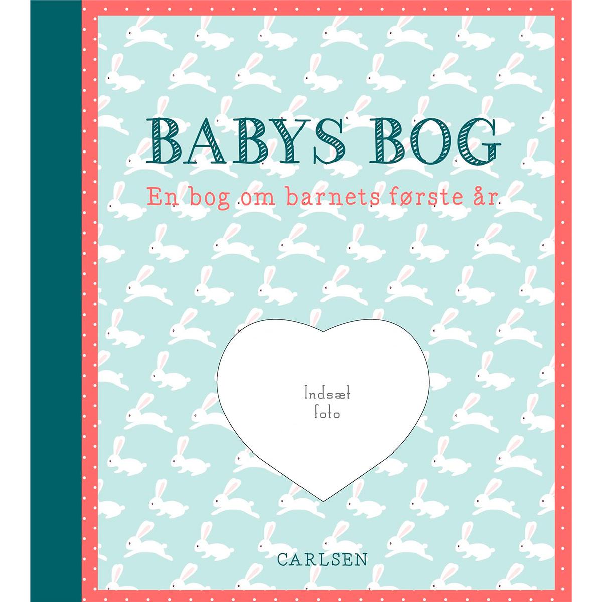 Image of   Babys bog - En bog om barnets første år - Hardback
