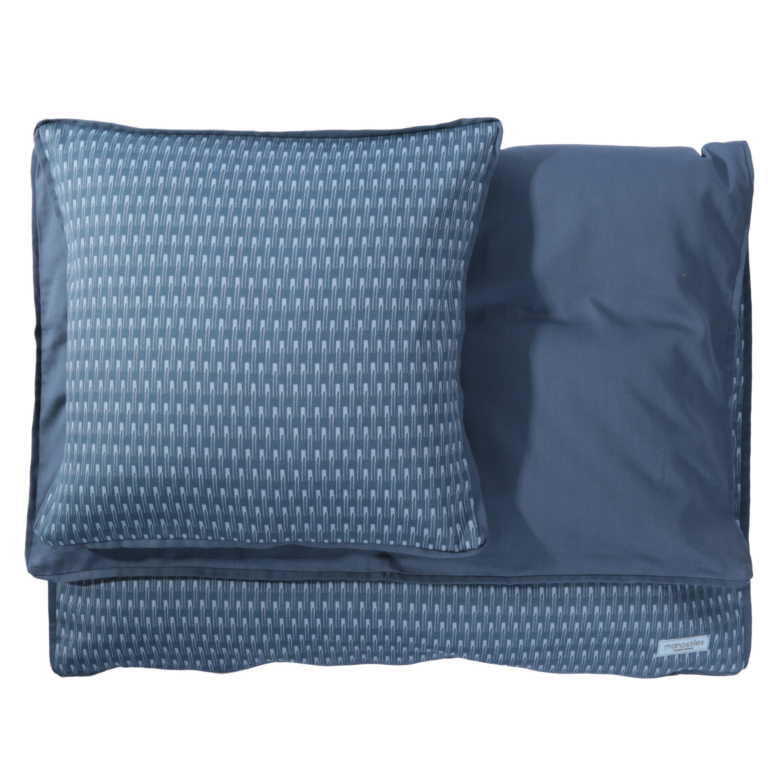 Image of   Babysengetøj - Manostiles - Oyster blue