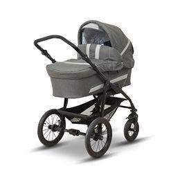 BabyTrold barnevogn - Star - Denimgrå