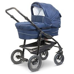 BabyTrold barnevogn - Supreme - Blå