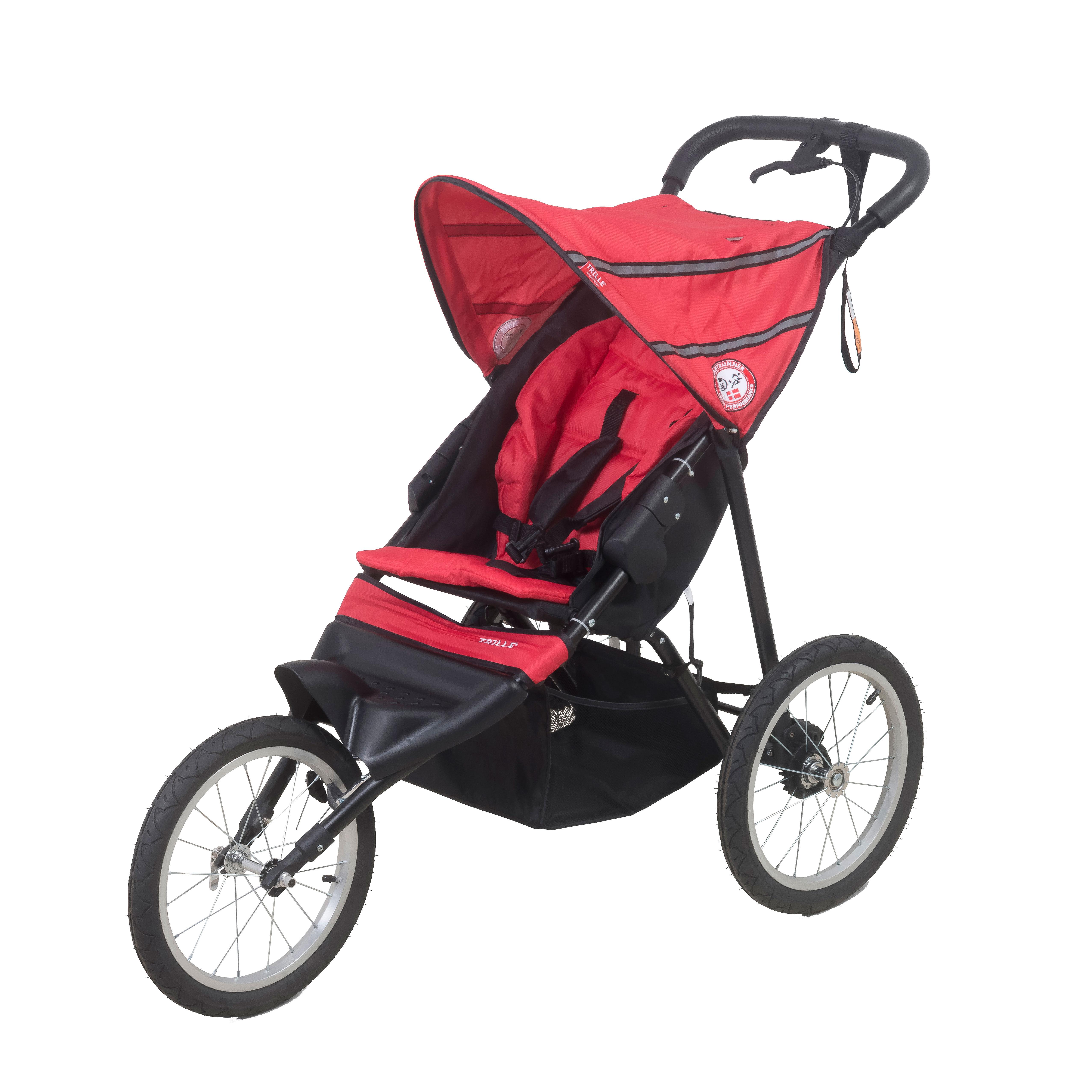 Image of   BabyTrold Jogger - Trille - Rød