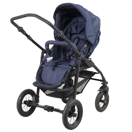 BabyTrold klapvognssæde - Supreme - Blå
