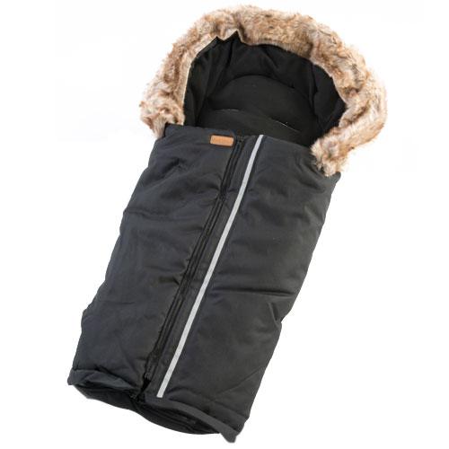 Image of   BabyTrold kørepose med pelskant
