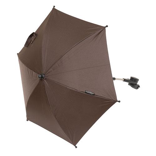 BabyTrold parasol til klapvogn - Mørkebrun