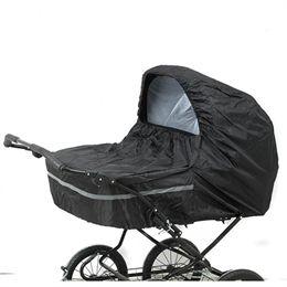 BabyTrold regnslag til tvillingebarnevogn