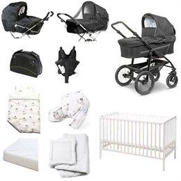 Image of   BabyTrold startpakke - Star - Sort