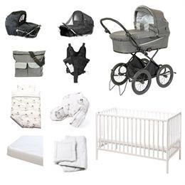 Image of   BabyTrold startpakke - X-Cellent - Grå