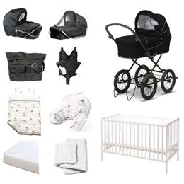 Image of   BabyTrold startpakke - X-Cellent - Sort