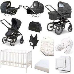 Image of   BabyTrold stor startpakke - Star - Sort