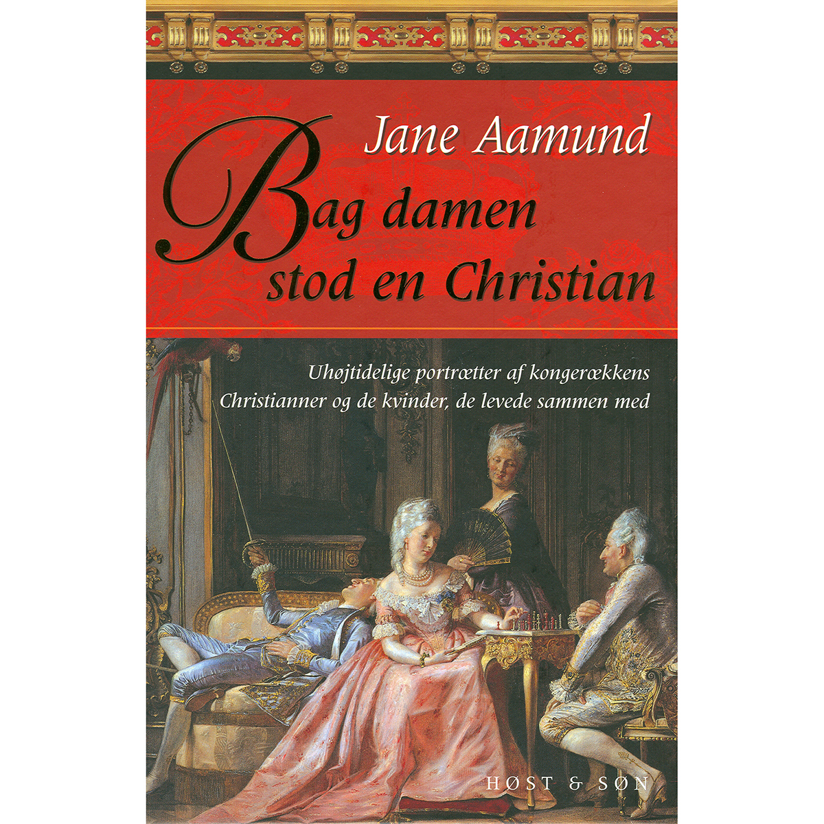 Image of   Bag damen stod en Christian - Indbundet