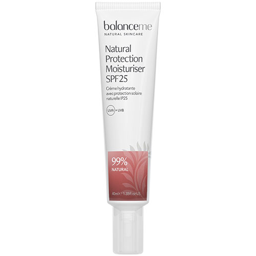 Image of   Balance Me Natural Protection Daily Moisturiser SPF25 - 40 ml