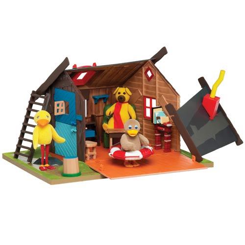 Billede af Bamses hus - 34 x 26 cm