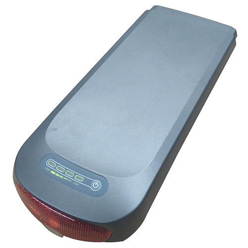 Batteri til elcykel - Lysegrå