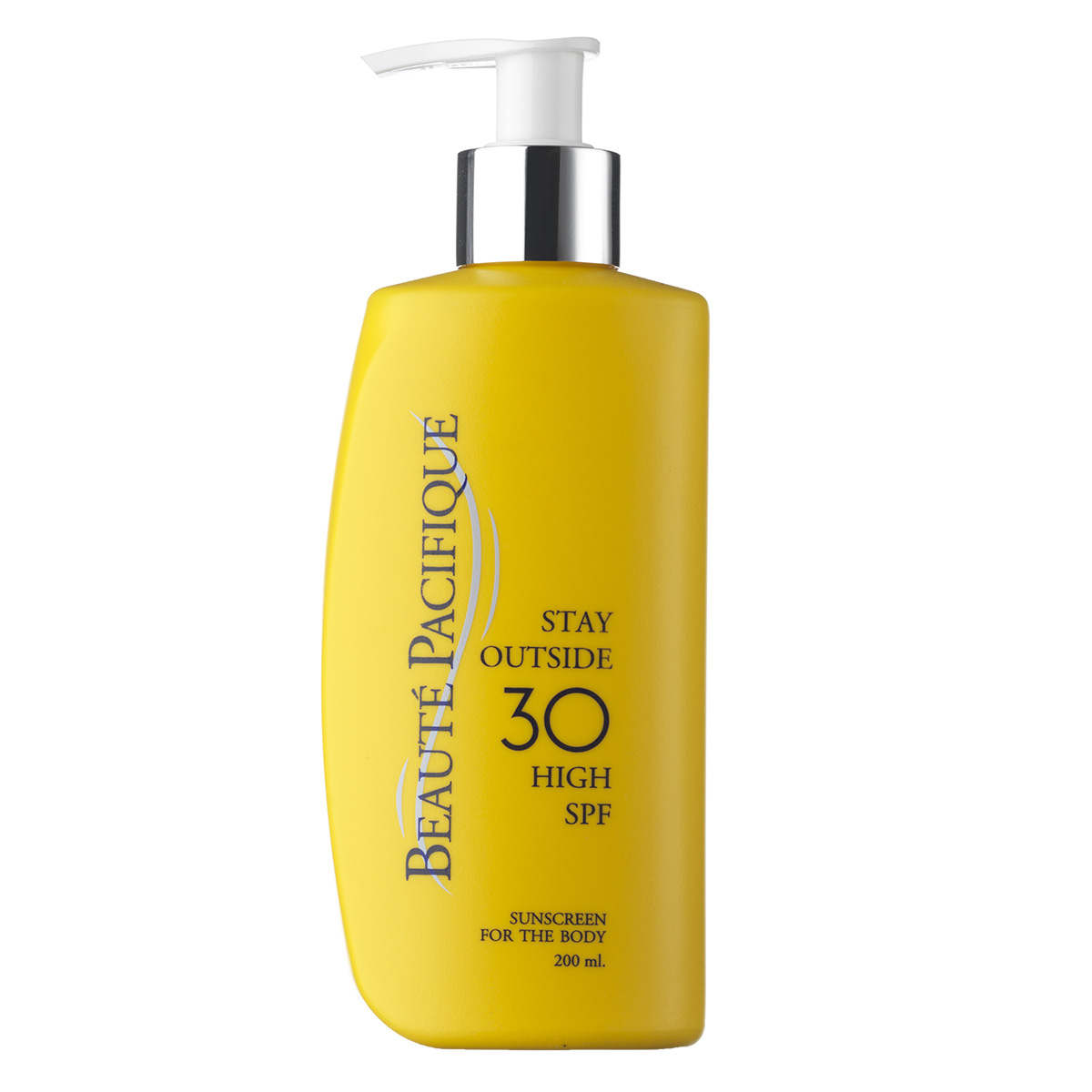 Beauté Pacifique Stay Outside SPF 30 - 200 ml Fugtgivende solcreme med faktor 30