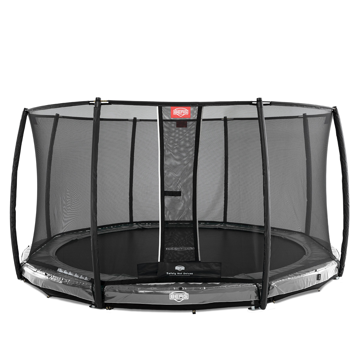 Image of   Berg trampolin med net - Elite Inground - Ø 430 cm