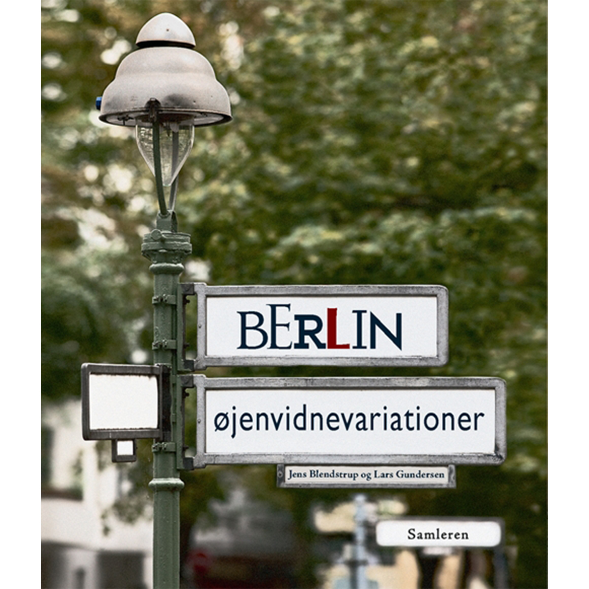 Image of   Berlin - øjenvidnevariationer - Hæftet