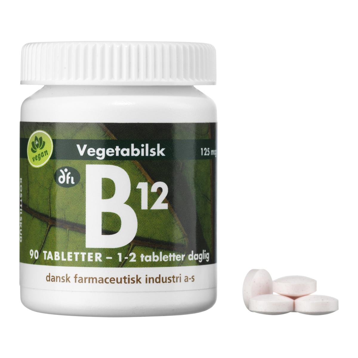 Billede af Berthelsen B-Vitamin B12 - 90 stk.