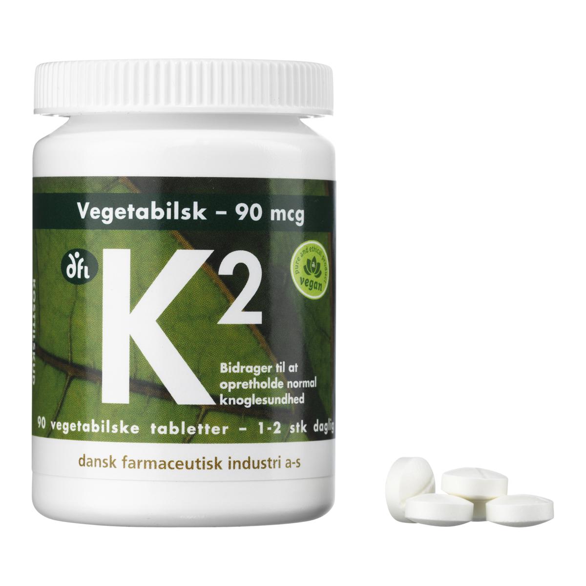 Billede af Berthelsen K2-Vitamin - 90 mcg - 90 stk.