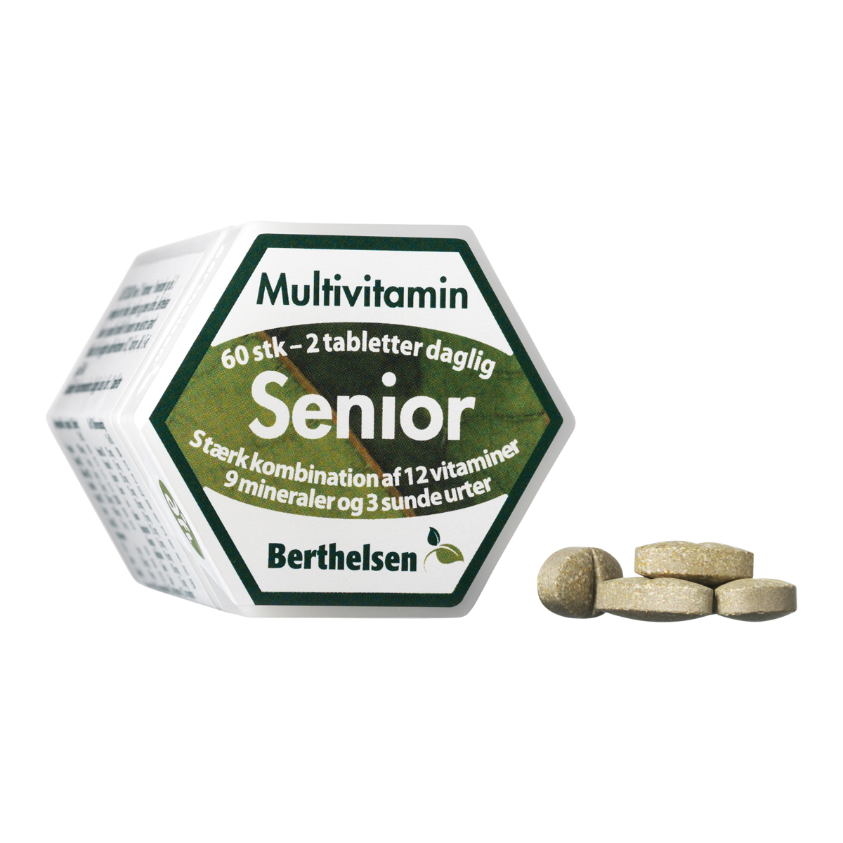 Image of   Berthelsen Senior Multivitamin - 60 stk.