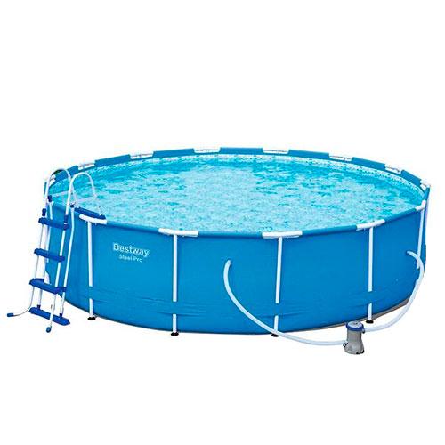 Image of   Bestway pool - Steel Pro Frame - 12.110 liter - Blå