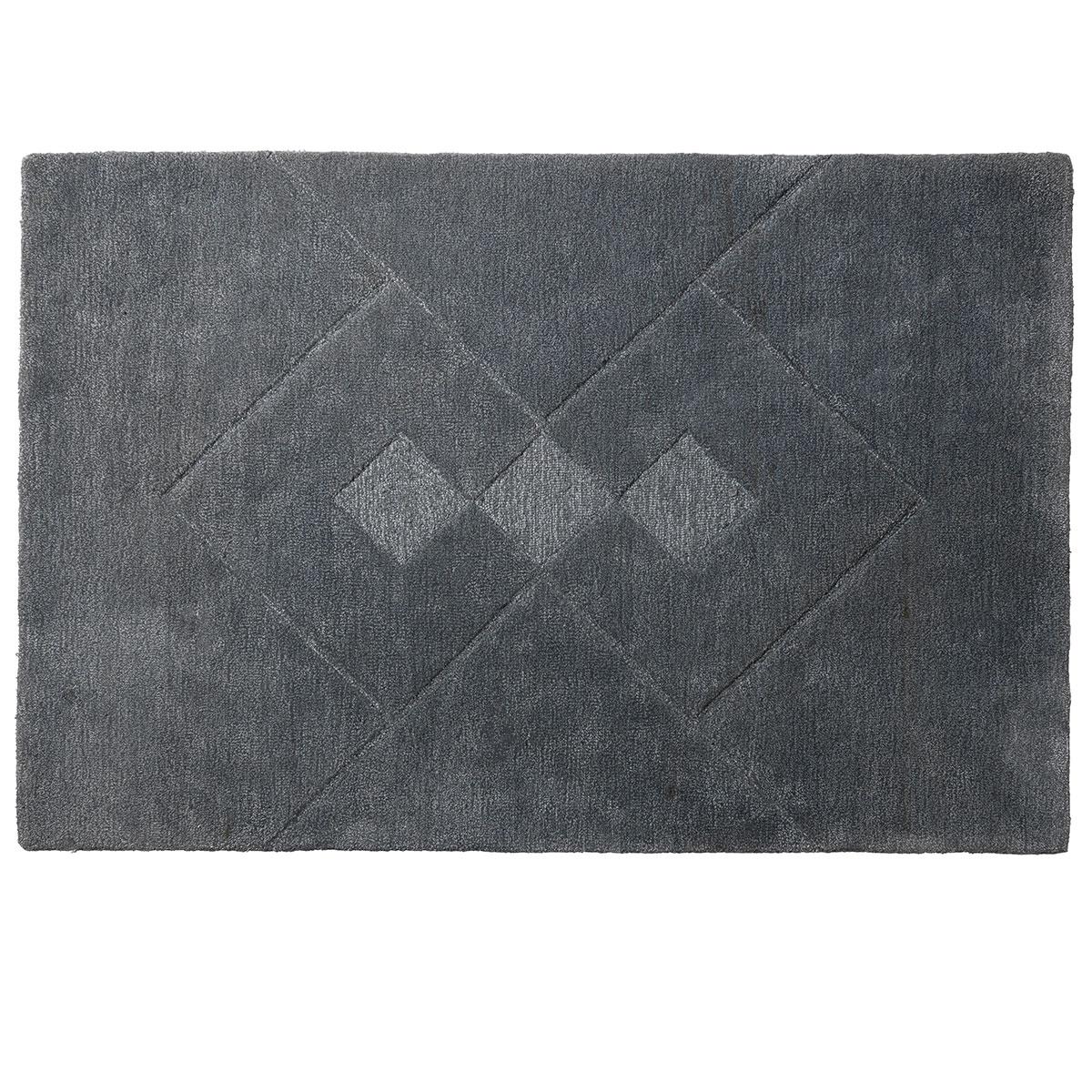 Image of   Bettina Juul Eilersen gulvtæppe - R7 Hera - 120 x 180 cm - Grå