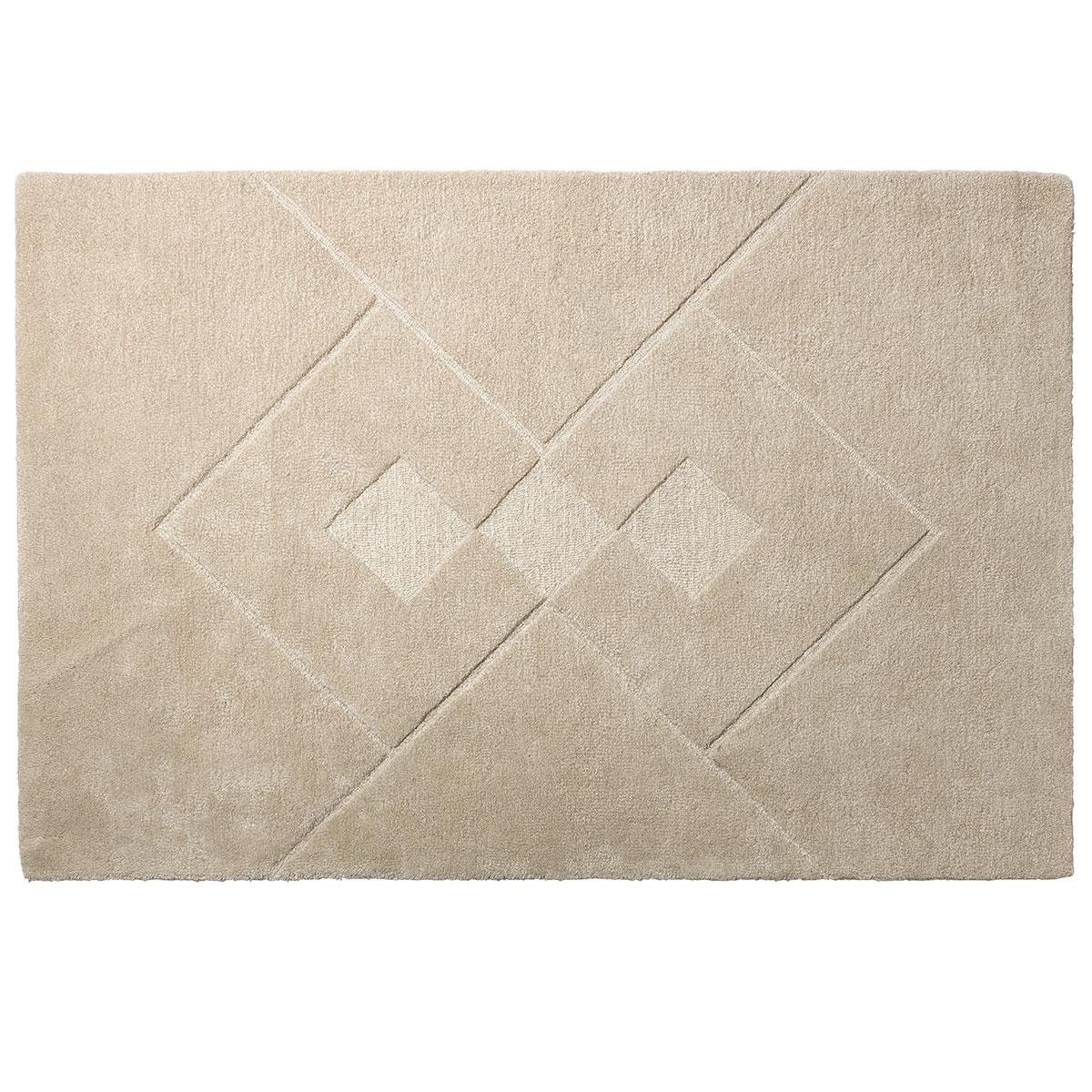 Bettina Juul Eilersen gulvtæppe - R7 Hera - 200 x 300 cm - Sand