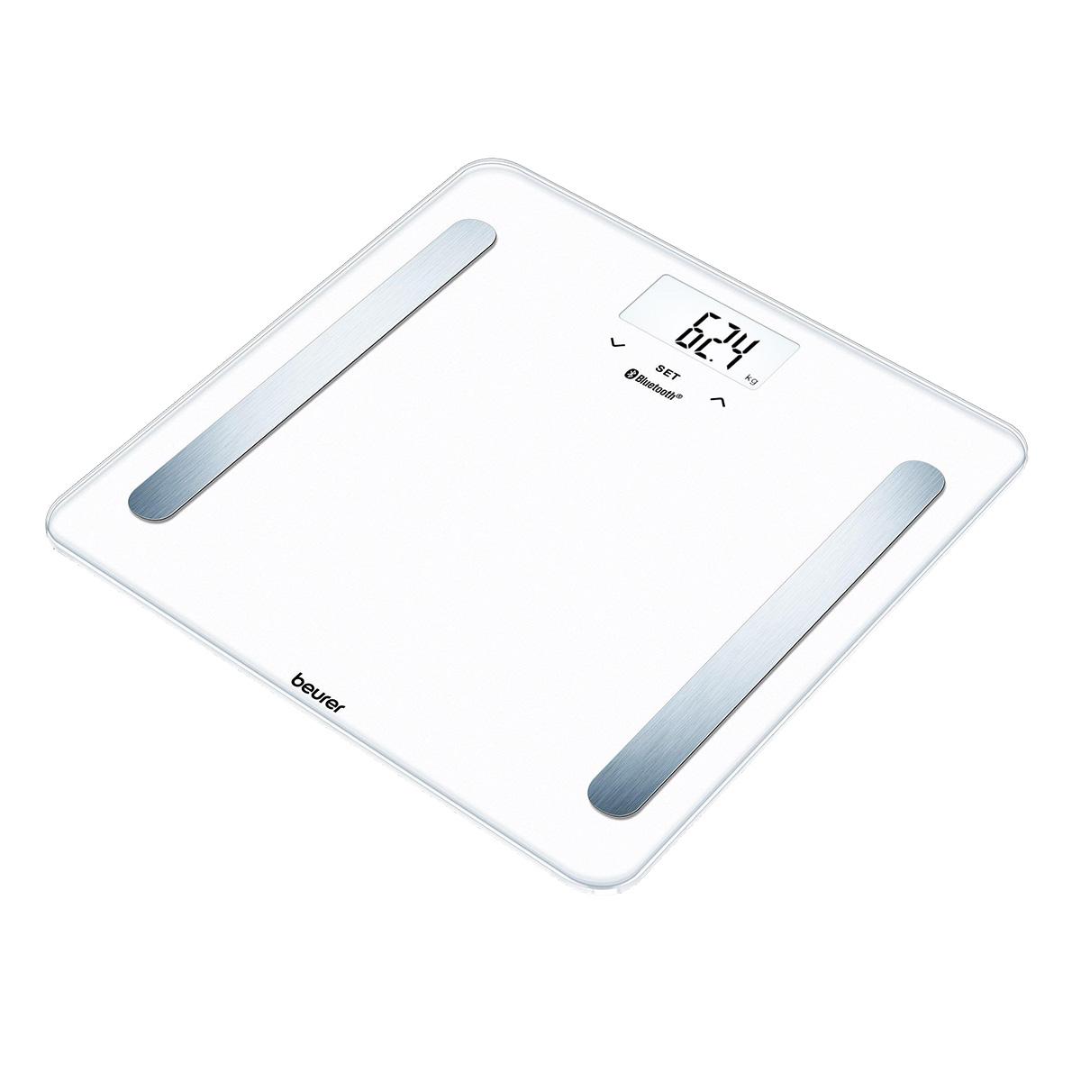 Beurer badevægt med kropsanalyse - BF600 - Hvid