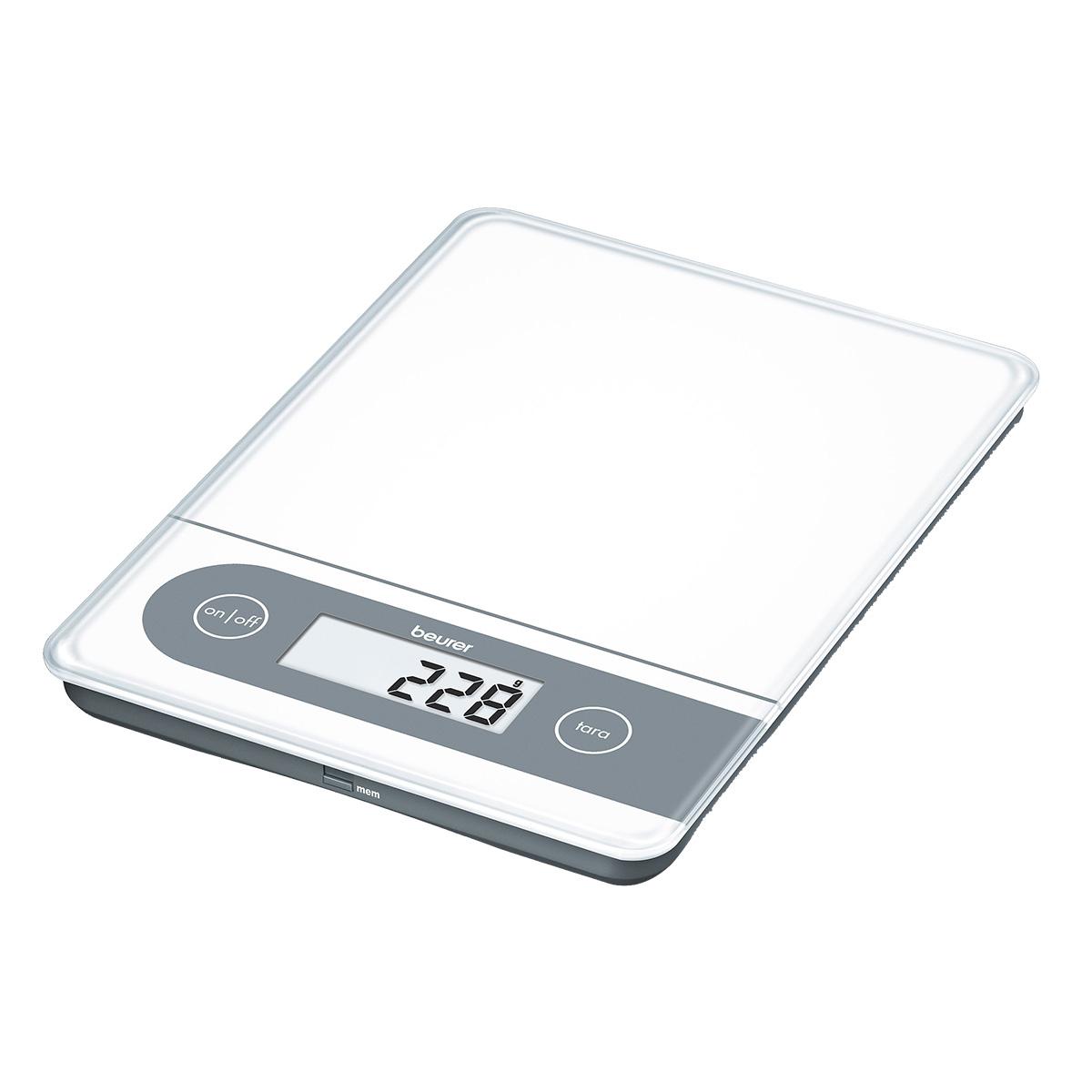 Beurer køkkenvægt - KS 59 XXL - Hvid