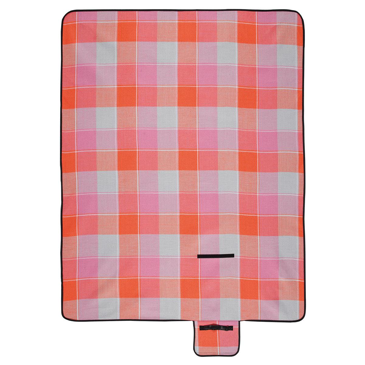 Billede af Biederlack picnictæppe - Block Pink