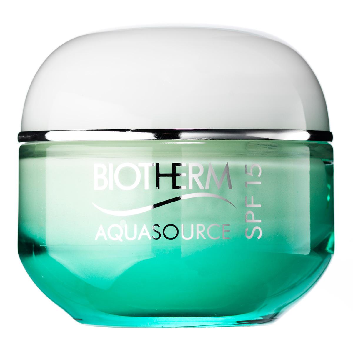 Image of   Biotherm Aquasource Cream SPF 15 - 50 ml