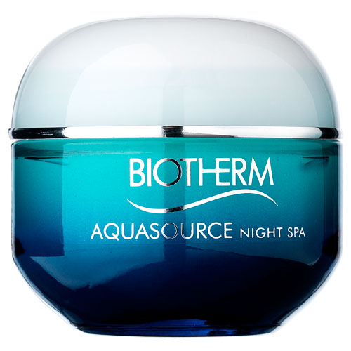 Biotherm Aquasource Night Gel - 50 ml Natcreme til alle hudtyper