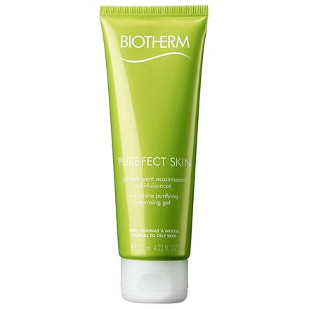 Biotherm Pure-Fect Anti-shine Purifying Cleansing Gel - 125 ml Til kombineret/fedtet hud