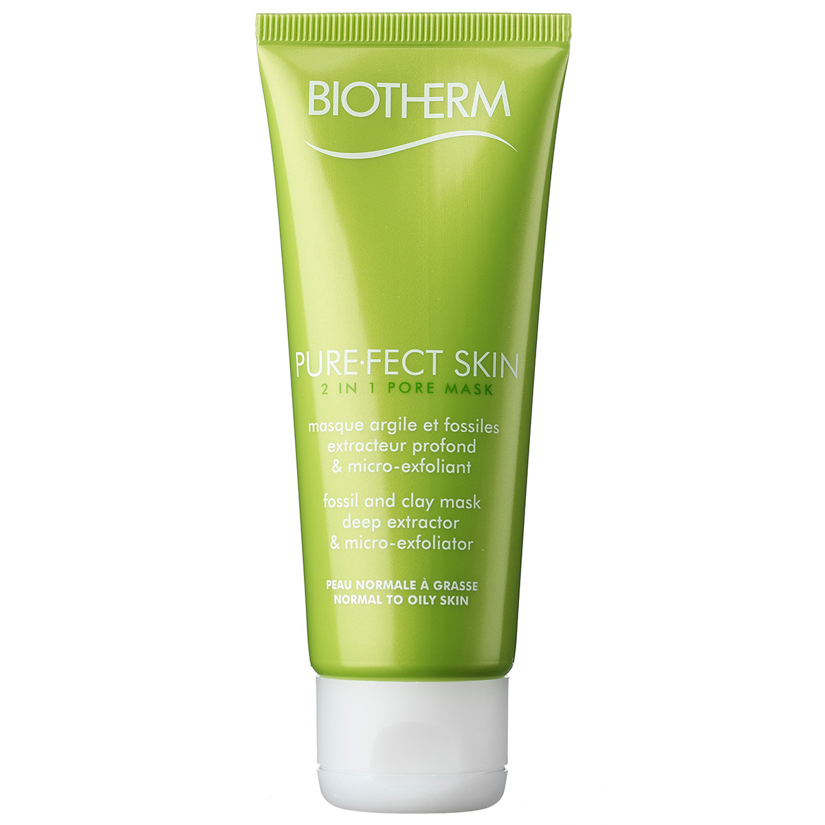 Image of   Biotherm Pure-Fect Skin 2 in 1 Pore Mask - 75 ml