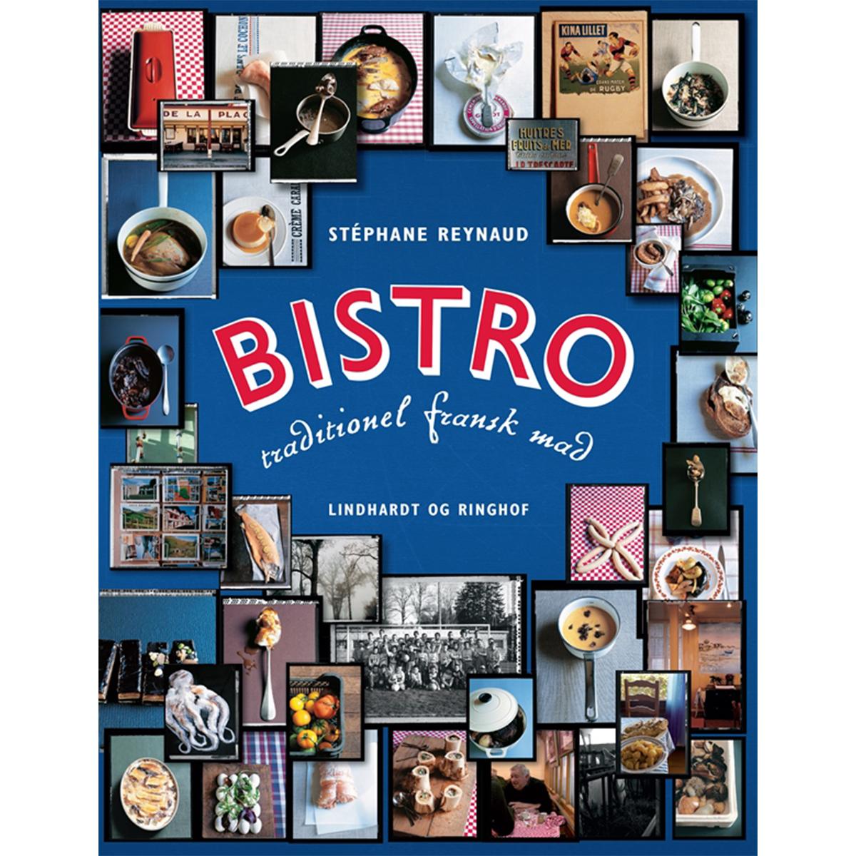 Image of   Bistro - traditionel fransk mad - Indbundet