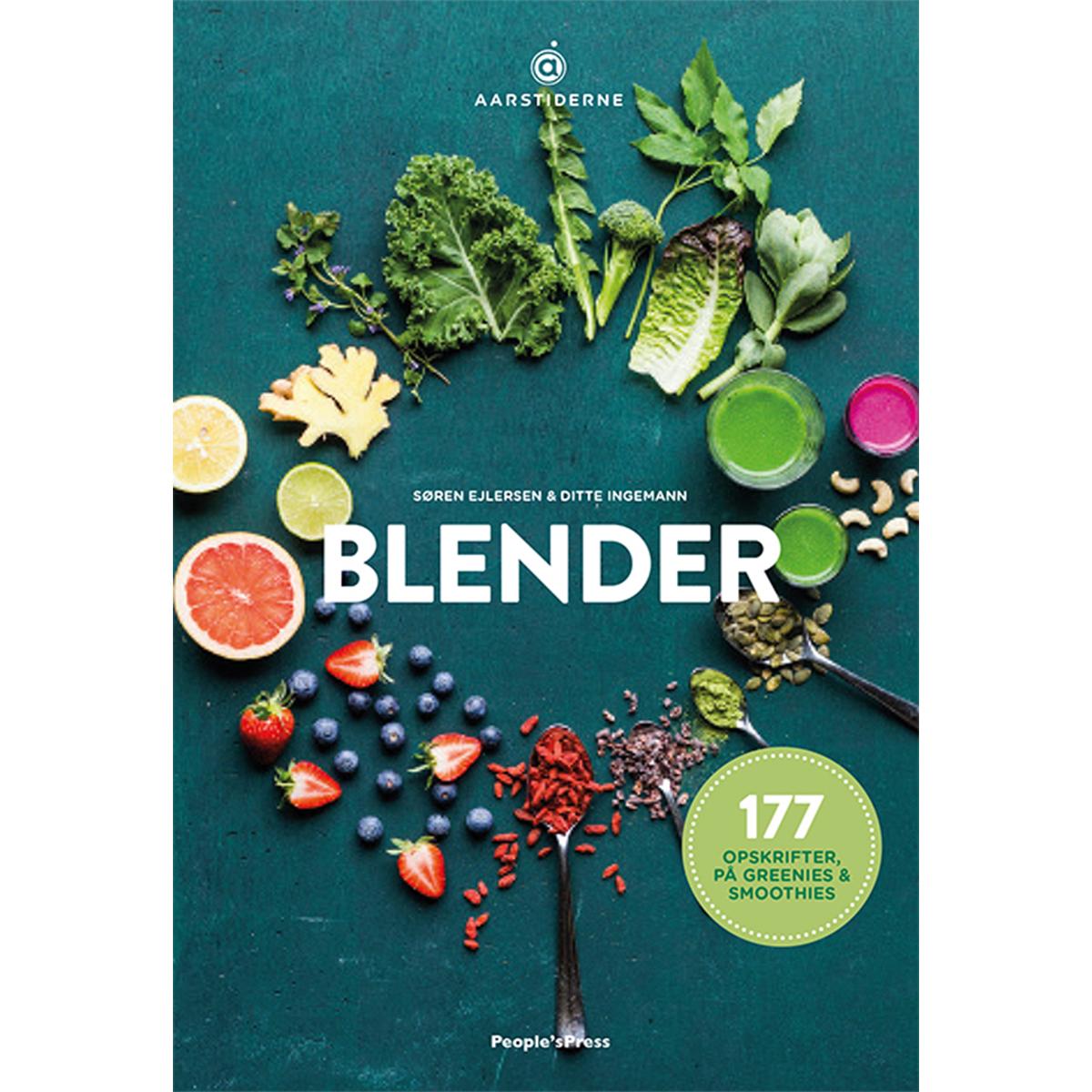 Image of   Blender - 177 opskrifter på greenies & smoothies - Indbundet