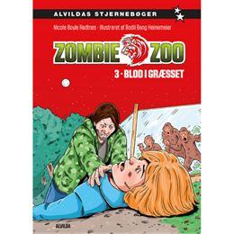 Image of   Blod i græsset - Zombie zoo 3 - Indbundet