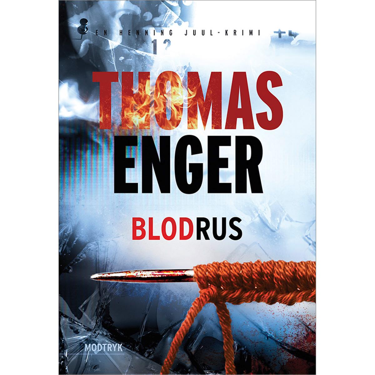 Image of   Blodrus - Henning Juul 3 - Paperback