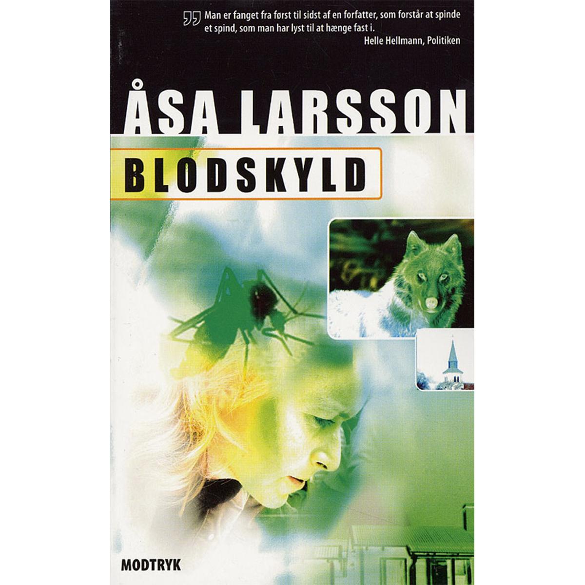 Image of   Blodskyld - Rebecka Martinsson 2 - Paperback