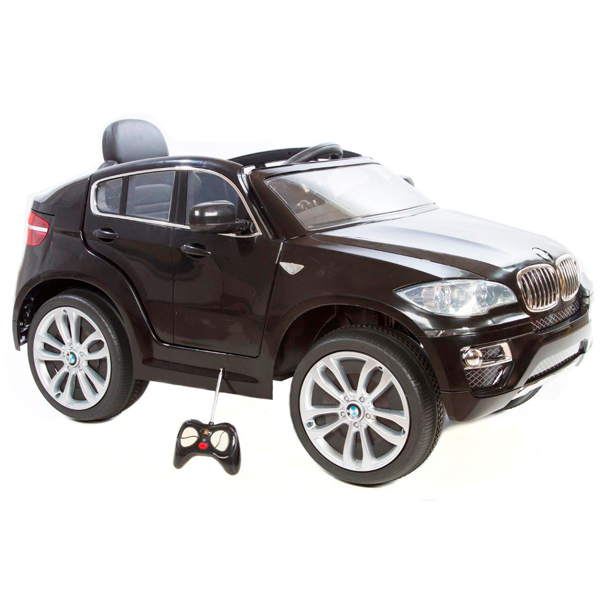 Image of   BMW elbil - X6 - Sort