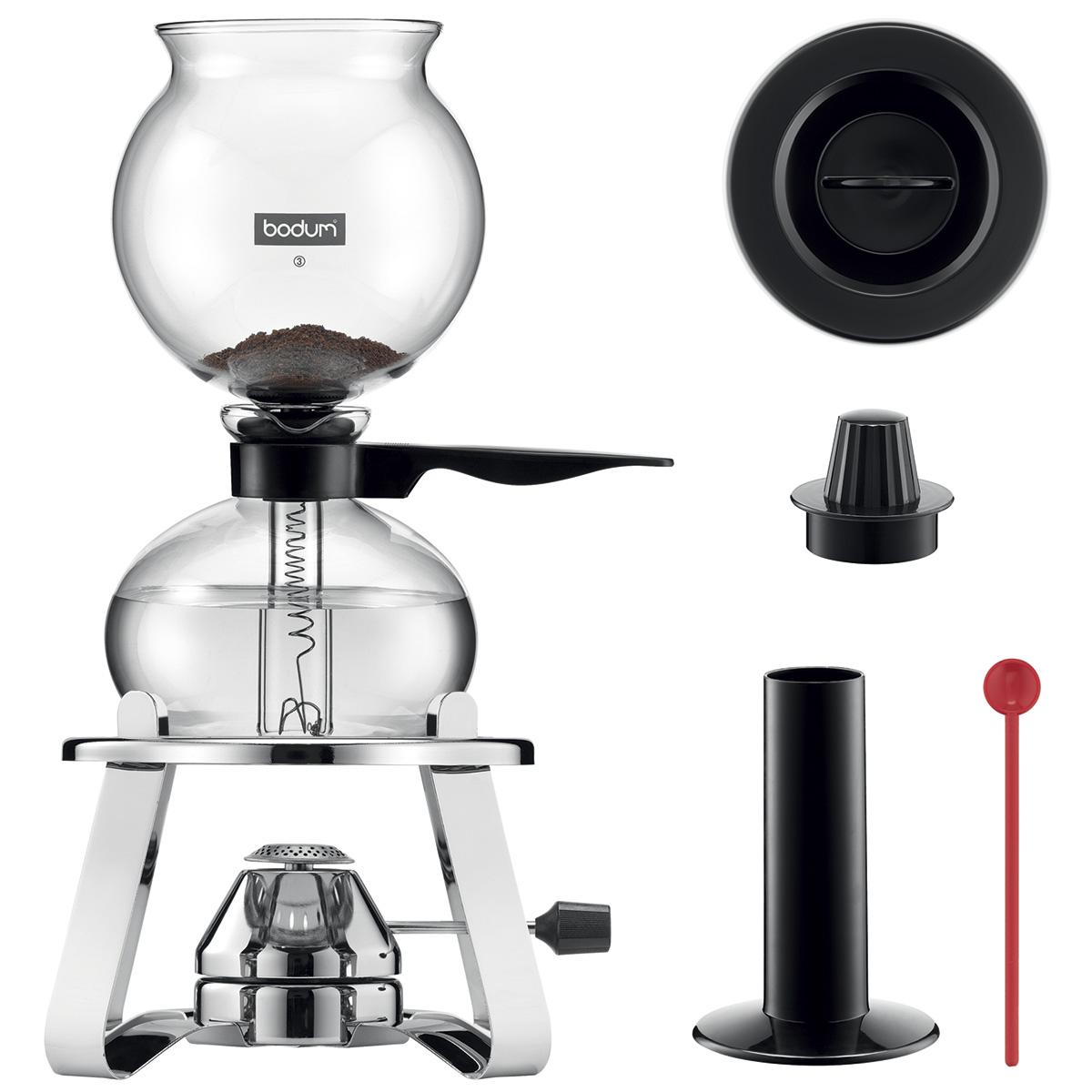 Image of   Bodum vakuumkaffebrygger med brænder - Pebo