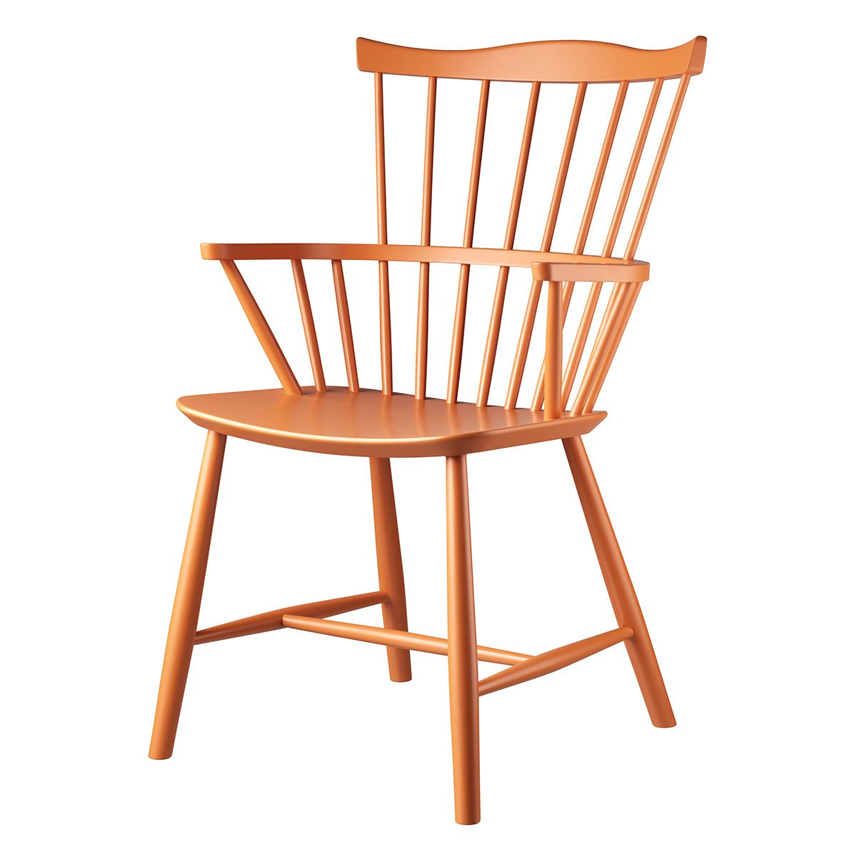 Image of   Børge Mogensen stol - J52B - Særudgave i orange