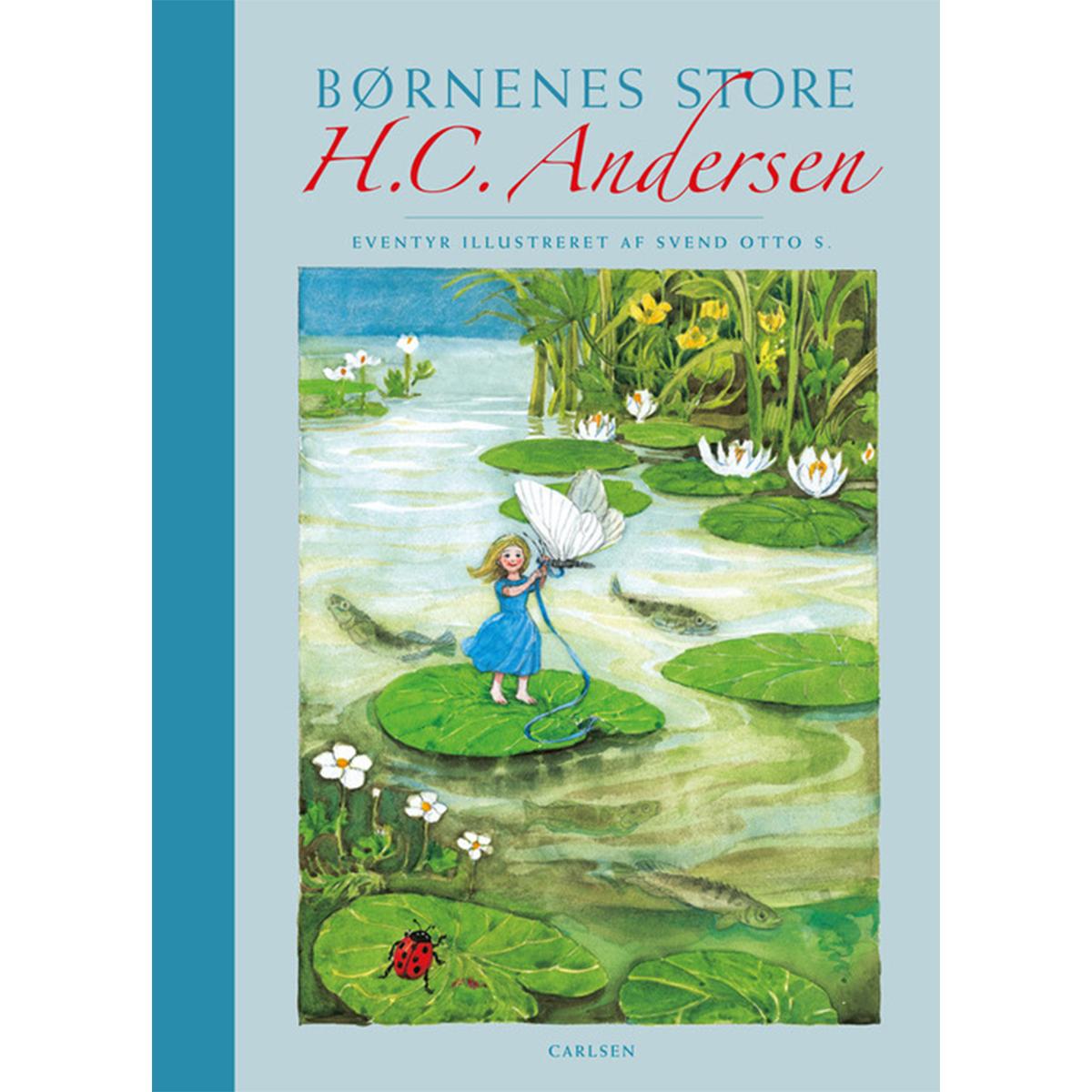 Image of   Børnenes store H. C. Andersen - med lærredsryg - Hardback